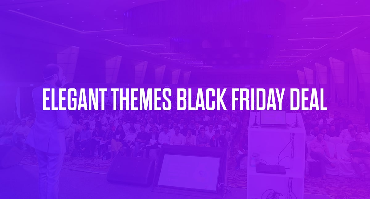 Elegant Themes/Divi Black Friday Deal 2020