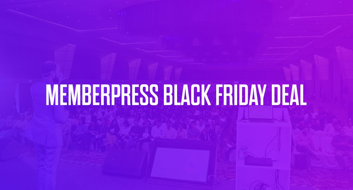 MemberPress Black Friday Deal